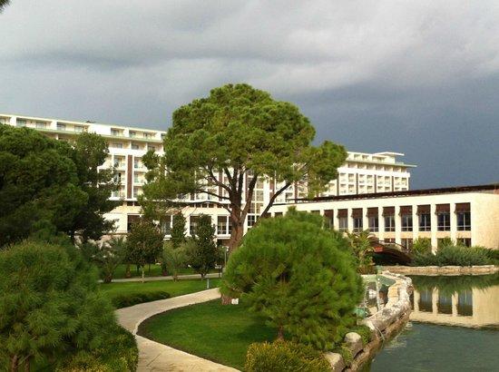 Rixos Premium Belek:                   Hotel outside