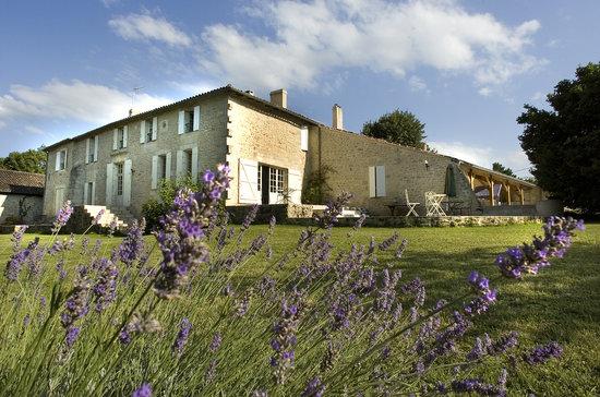 Chambres d'hotes Saint Emilion Bordeaux: Beau Sejour : Beau Séjour and Park