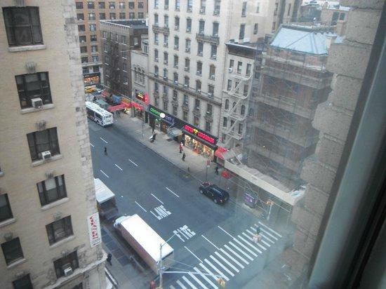 View across the street