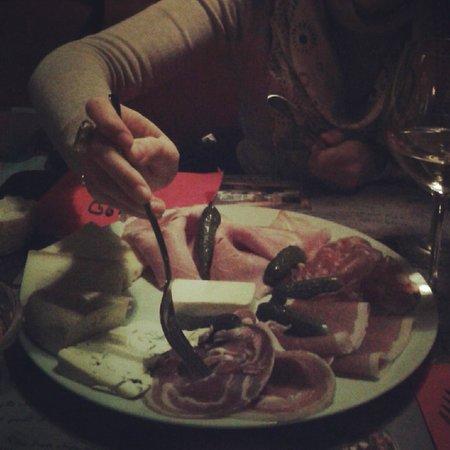 L'As de Pique : L'assiette apéro... pour deux.