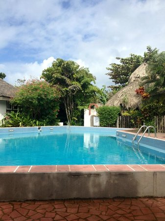 Kariwak Village Holistic Haven and Hotel: The main swimming pool