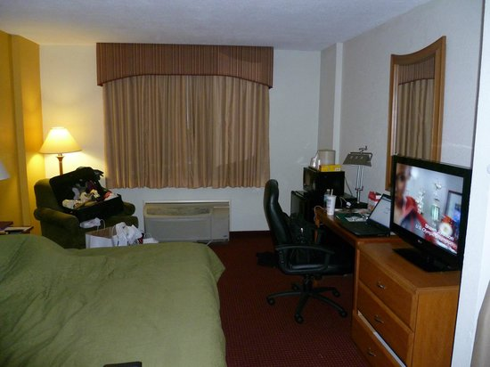 Quality Inn & Suites: room size