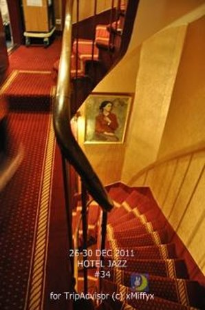 Hotel Louis 2: staircase