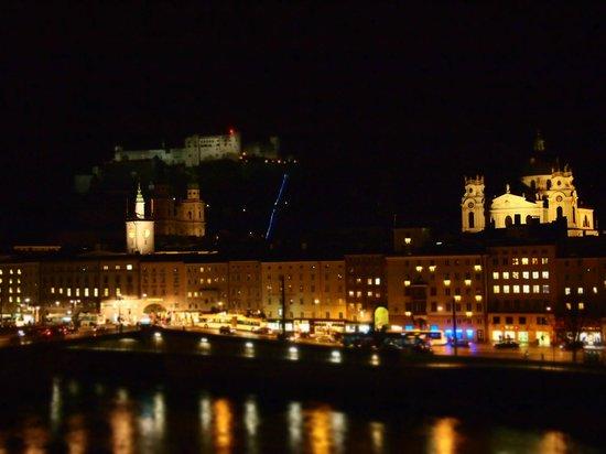 Hotel Sacher Salzburg: 部屋からの眺め