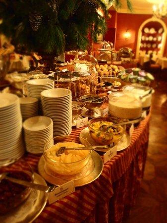 Hotel Sacher Salzburg: 朝食会場