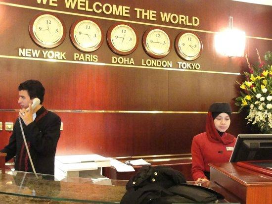 Retaj Al Rayyan Hotel: hotel reception