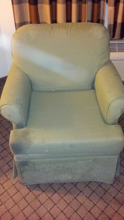 Days Inn Biloxi Beach:                   dirty chair