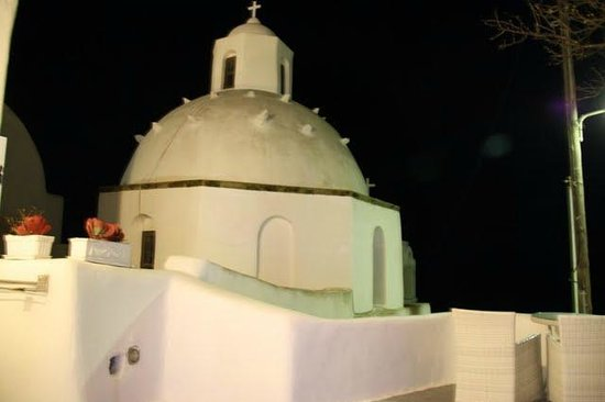 Aroma Suites: Cold night in Fira
