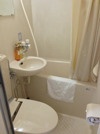 Hotel Mystays Higashi-Ikebukuro : toilet