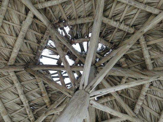Iberostar Hacienda Dominicus: Palapa rota