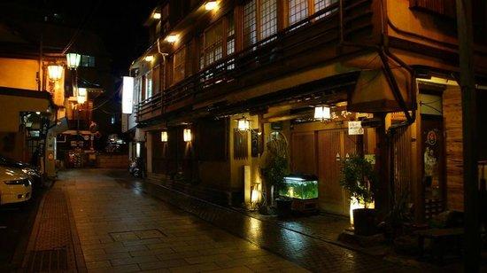 Senshinkan Matsuya: devant l'hotel