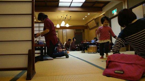 Senshinkan Matsuya: salle à manger