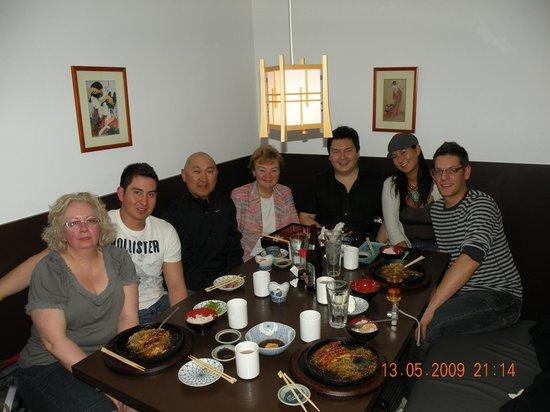 Temaki Sushi: Family dinner at Temaki's