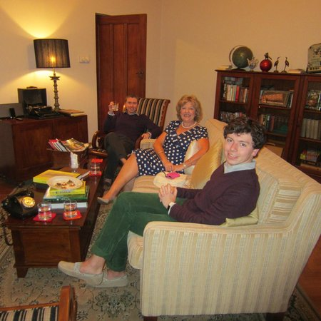 Ceylon Tea Trails:                   Relaxing in the library