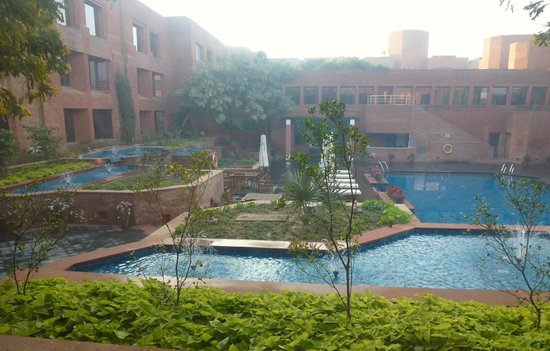 ITC Mughal, Agra: View from our room