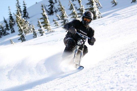 Oregon: Snowbiking at Hoodoo Ski Area