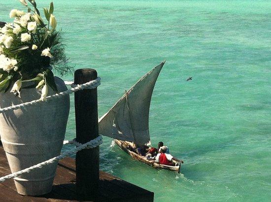 Essque Zalu Zanzibar: From the Jetty