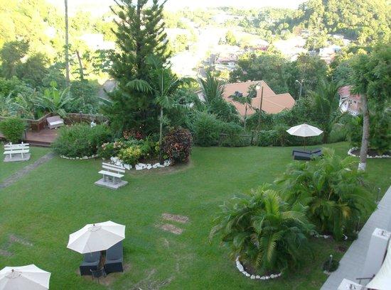 Bel Jou Hotel:                   Room view