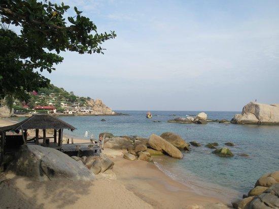 Tanote Villa Hill:                   Tanote Bay beach