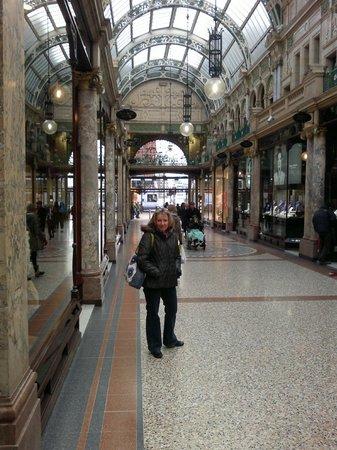 Premier Inn Leeds City Centre (Leeds Arena) Hotel:                   Shopping arcade