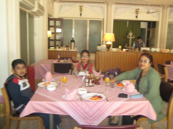 Hotel Meghniwas:                   Dining Hall