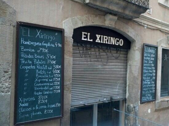 El Xiringo: After lunch...buuuuuf