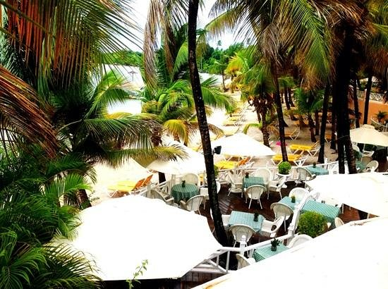 Coco Reef Tobago:                   Breakfast View