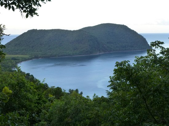 Manicou River:                   Our gorgeous view of Cabrits National Park and Douglas Bay