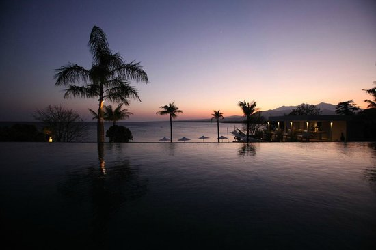 The Lombok Lodge: Infinity pool