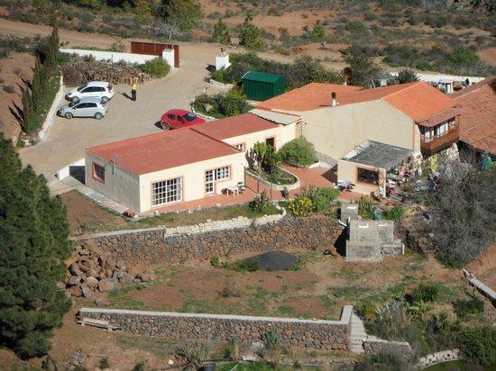 """El Refugio"": The restaurant seen from ""Imoque"""