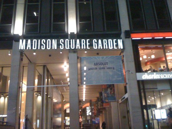 Full house picture of madison square garden new york city tripadvisor for Address of madison square garden