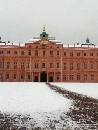 Rastatt Castle (Schloss) :                                     Innenhof im Januar