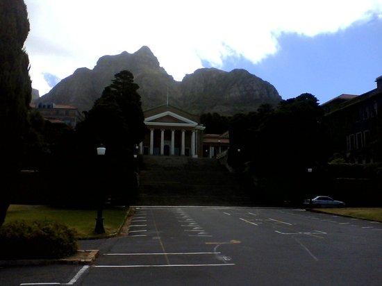 University of Cape Town: vista da ucp