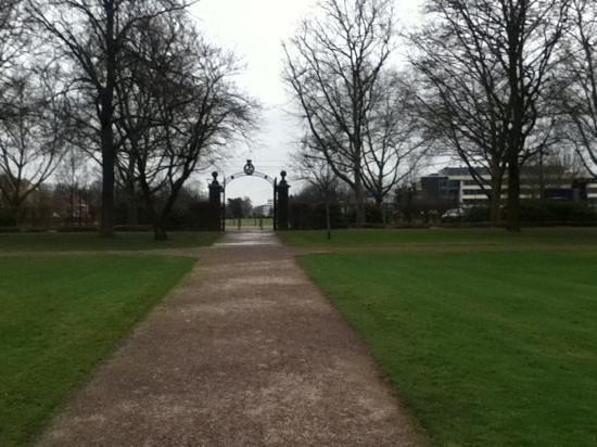 Rastatt, Tyskland:                                     Eingang Schlosspark