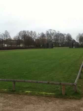 Rastatt, Γερμανία:                                     Rasenfläche Schlosspark