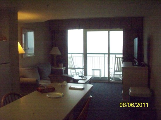 Hampton Inn & Suites Myrtle Beach/Oceanfront: Balcony from room