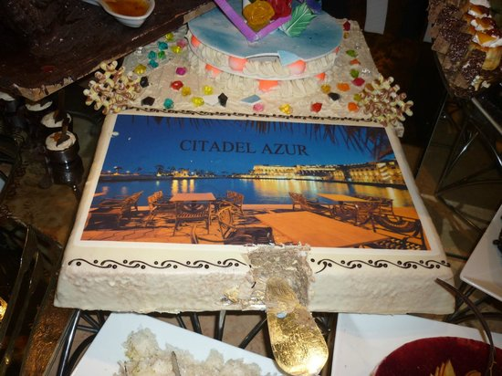 Citadel Azur Resort: Buffet du Nouvel An