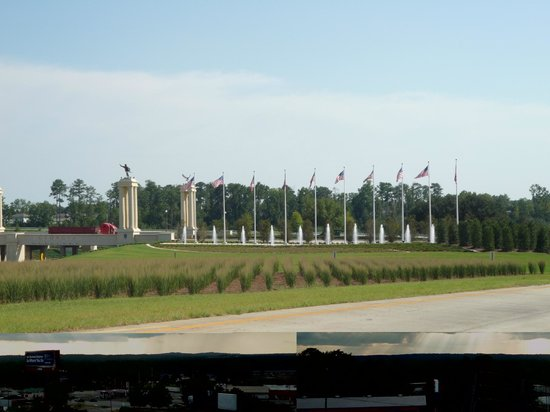 Holiday Inn Express Hotel & Suites Columbus - Fort Benning: View at the end of Hwy 185 and Victory Dr. into Ft. Benning