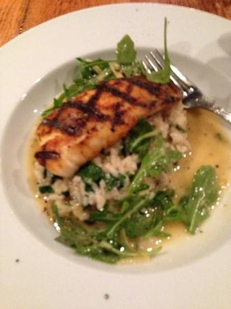 Josephine's Kitchen Catering: grouper with risotto