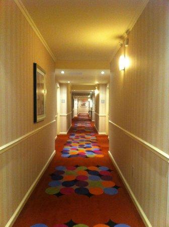 Hilton Times Square: corridoio