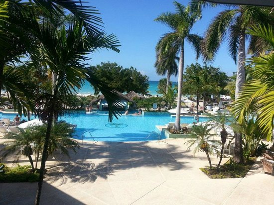 Couples Negril:                   View from the resort