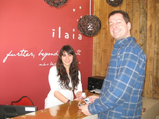 Ilaia Hotel: Front Desk