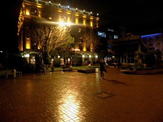Deluxe Golden Horn Sultanahmet Hotel: Vor dem Hotel