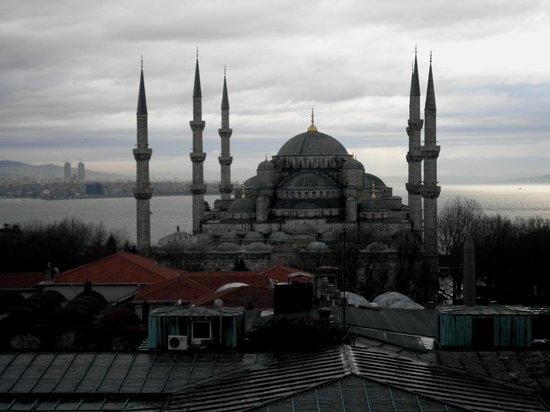 Deluxe Golden Horn Sultanahmet Hotel: Ausblick auf die Blaue Moschee