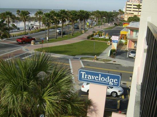 Seaside Inn & Suites:                   View from room