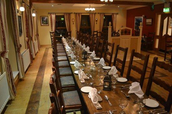 Caisleain Oir Hotel: Dining room