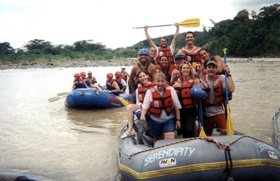 Serendipity Adventures White Water Rafting : Whitewater adventure
