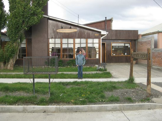 Big Bang Patagonia: The view from outside, in a cute neighborhood