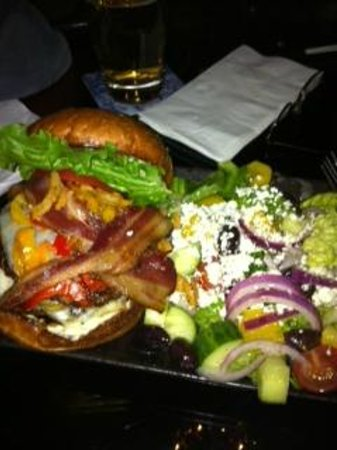 Shooters Bar & Grill: The CHP Loaded Burger !!