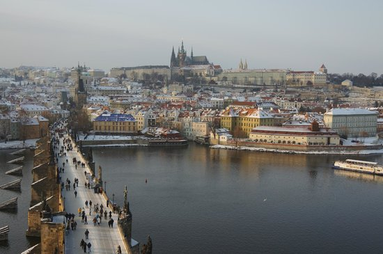 Boscolo Prague, Autograph Collection: View of Charles Bridge, castle and cathedral